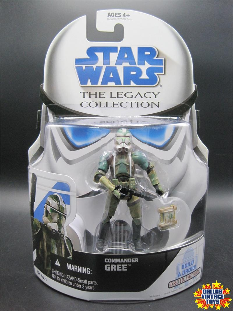 2008 Hasbro Star Wars Legacy Collection GH No  1