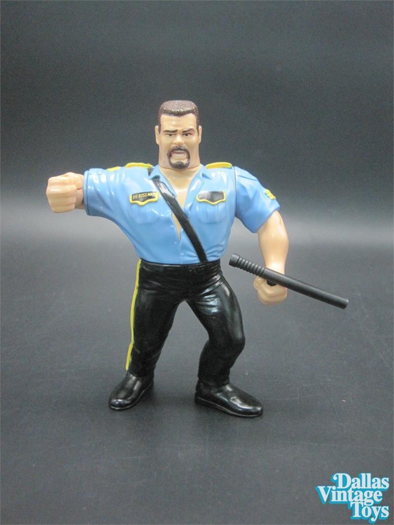 1992 Hasbro Wwf Series 3 Big Boss Man With Jailhouse