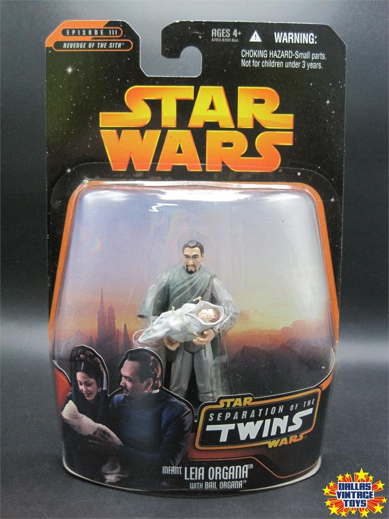 2005 Hasbro Star Wars Revenge Of The Sith Episode Iii Separation Of The Twins Infant Leia Organa With Bail Organa 1e