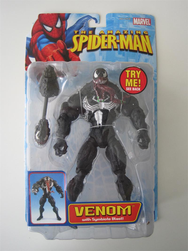 2005 Toy Biz Marvel Legends The Amazing Spider Man Symbiote Blast Venom