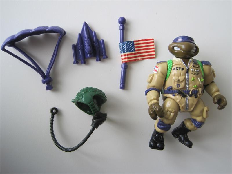 Teenage Mutant Ninja Turtles TMNT Weapon Pro Pilot DON Helmet 1991