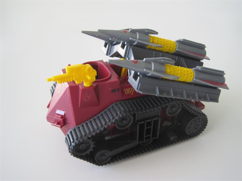 GI Joe Imp RIGHT TRACK TREAD tank wheels Vtg part 1988 Cobra