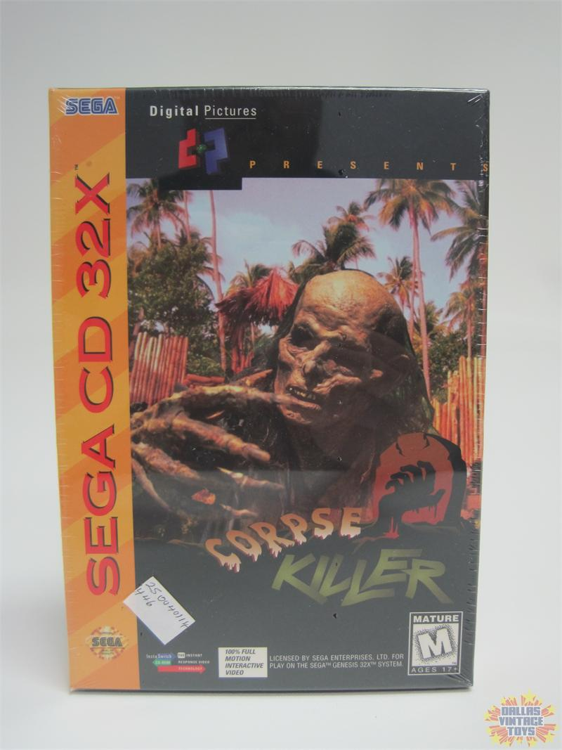 1994 Sega CD 32X Corpse Killer (Sealed)