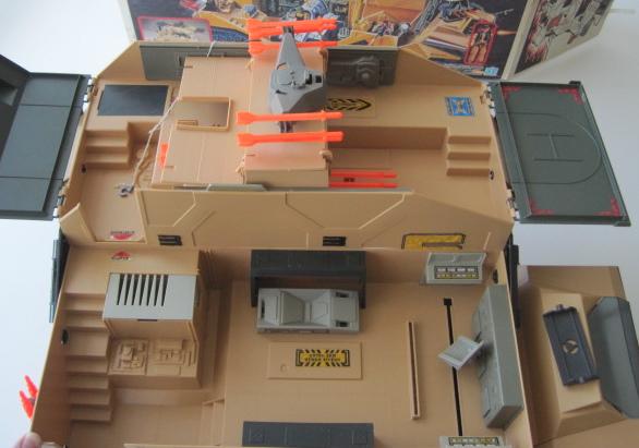 Gi Joe 1987 Mobile Command Center Boxed