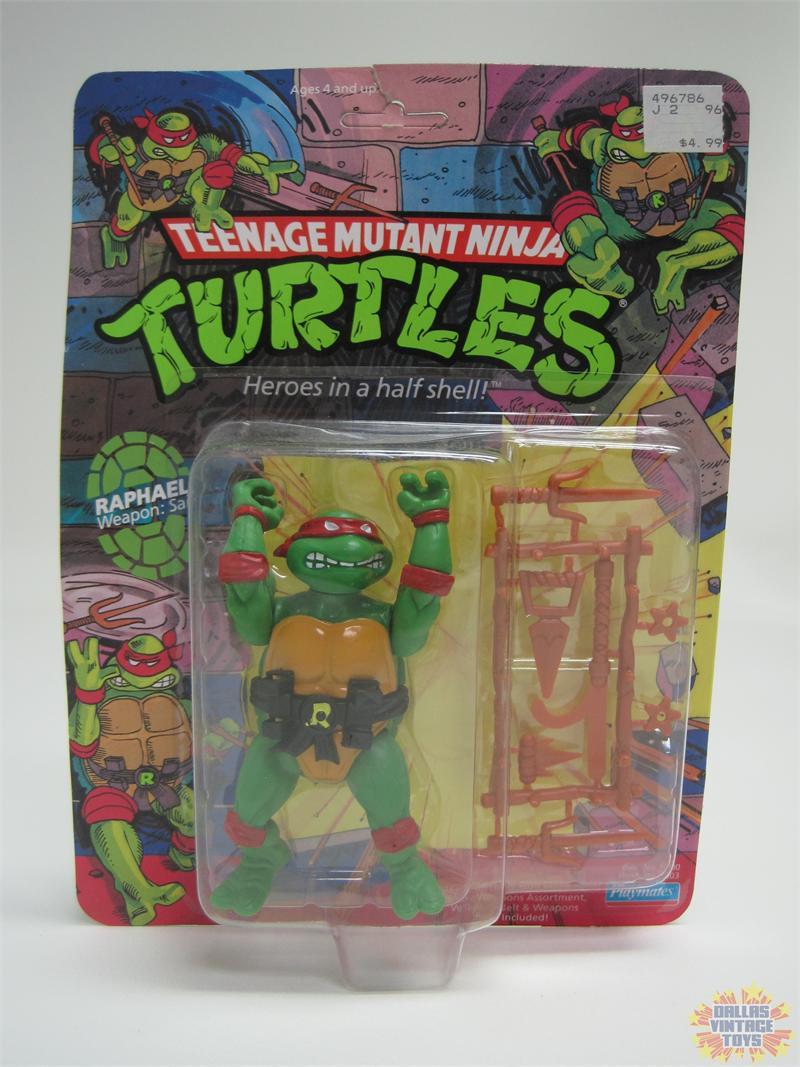 1988 Playmates Teenage Mutant Ninja Turtles TMNT Raphael figure