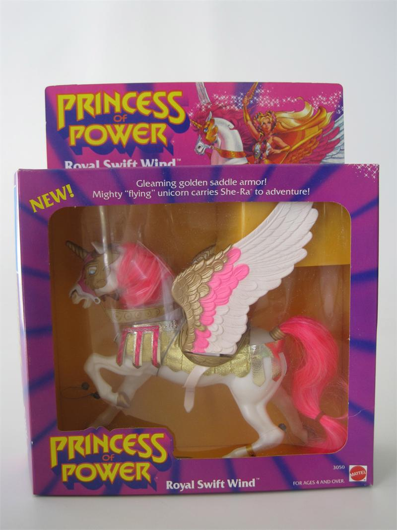 1986 Mattel She-Ra Princess of Power Royal Swift Wind MIB