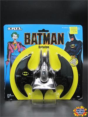 DC Comics ERTL 1989 Vehicle BATWING Die Cast Metal 1:43 Batman Movie MIB