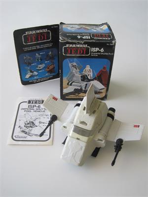 STAR WARS Vehicle Mini Rig ISP-6 Shuttle Wing Gun Vintage 1983 Original Part