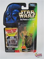 C-3PO Droid 1995 STAR WARS Power of the Force POTF MOC RED Card