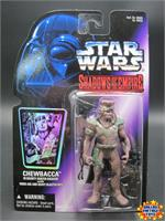 Chewbacca Bounty Hunter Disguise 1996 Shadows of the Empire SOTE Star Wars MOC
